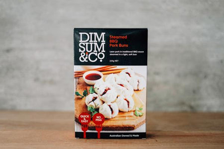Dim Sum & Co Steamed BBQ Pork Buns 8 pack Freezer > Ready-Made Meals