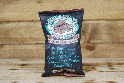Cracked Pepper & Sea Salt Crisps 150g - Compostable Bag