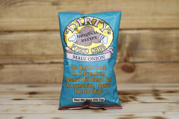 Dirty Potato Chips Sweet Maui Onion Potato Chips 2oz Pantry > Cookies, Chips & Snacks