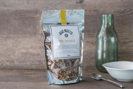 Dux Nutts The Crumble Organic Muesli 350g Pantry > Granola, Cereal, Oats & Bars