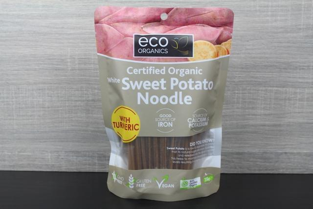Eco Organics Noodles Sweet Potato White 200g Pantry > Pasta, Sauces & Noodles