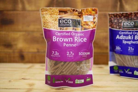 Eco Organics Organic Penne Brown Rice 200g Pantry > Pasta, Sauces & Noodles