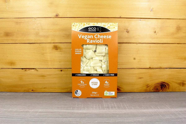 Eco Organics Vegan Cheese Ravioli 250g Pantry > Pasta, Sauces & Noodles