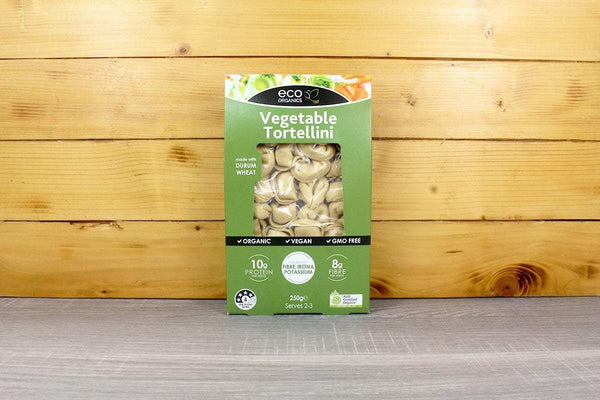 Eco Organics Vegetable Tortellini 250g Pantry > Pasta, Sauces & Noodles
