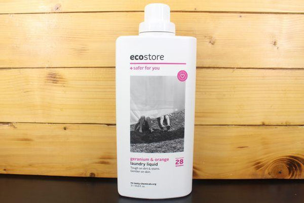 Ecostore Ecostore Laundry Liquid Geranium & Orange 1L Household > Laundry