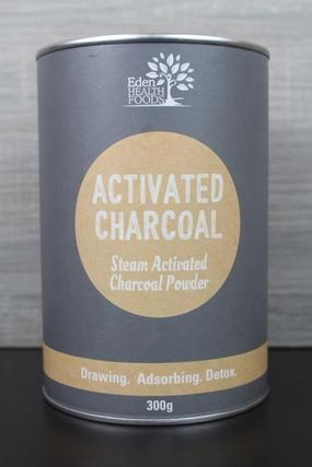 Eden Health Foods Activated Charcoal 300g Pantry > Protein Powders & Supplements