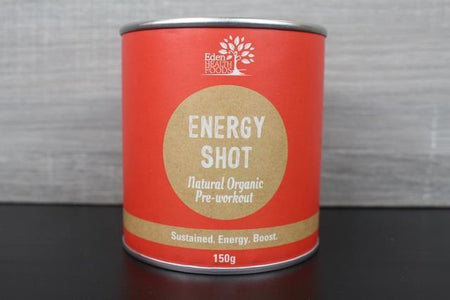 Eden Health Foods Energy Shot 150g Pantry > Protein Powders & Supplements