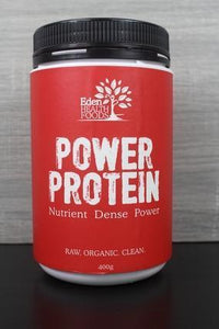 Eden Health Foods Power Protein 400g Pantry > Protein Powders & Supplements