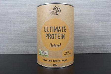 Eden Health Foods Ultimate Protein Natural 400g Pantry > Protein Powders & Supplements