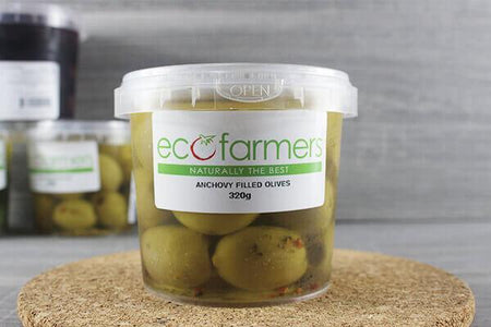 Elegre Anchovy Filled Olives 320g Deli > Fresh Antipasto & Olives