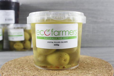 Eco Mixed Olives 320g