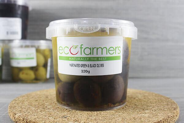Elegre Marinated Green & Black Olives 320g Deli > Fresh Antipasto & Olives