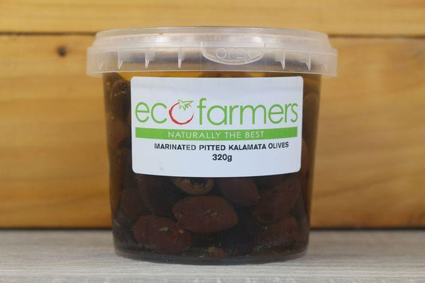 Elegre Marinated Pitted Kalamata Olives 320g Deli > Fresh Antipasto & Olives