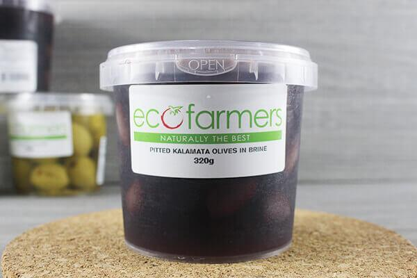 Elegre Pitted Kalamata Olives in Brine 320g Deli > Fresh Antipasto & Olives