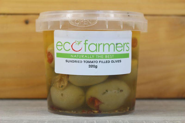 Elegre Sundried Tomato Filled Olives 320g Deli > Fresh Antipasto & Olives