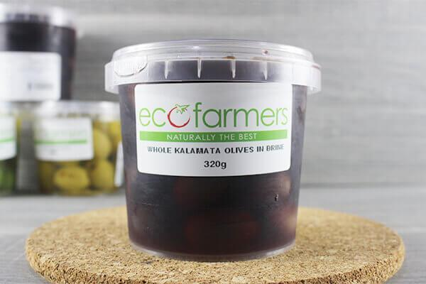 Elegre Whole Kalamata Olives in Brine 320g Deli > Fresh Antipasto & Olives
