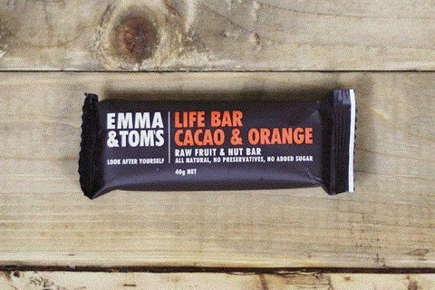 Cacao & Coffee Bean Life Bar 35g