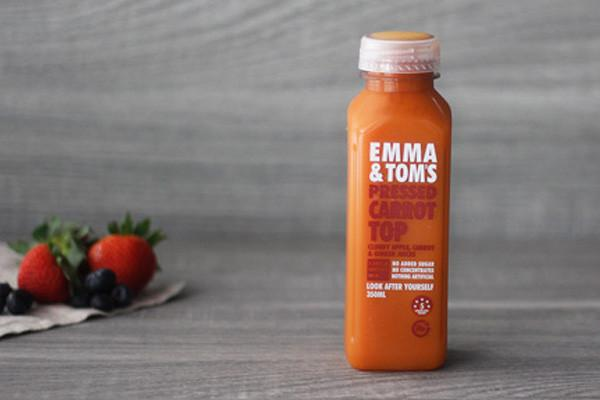 Emma & Tom's Carrot Top 350ml* Drinks > Juice, Smoothies & More