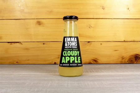 Emma & Tom's Cloudy Apple 250ml Glass Bottle Drinks > Juice, Smoothies & More