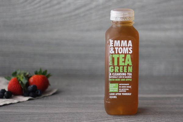 Emma & Tom's Green Brewed Iced Tea 450ml* Drinks > Juice, Smoothies & More