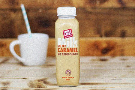 Emma & Tom's Milk Salted Caramel 350ml Drinks > Milks & Dairy Alternatives