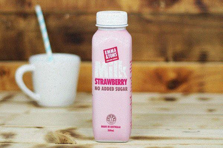 Emma & Tom's Milk Strawberry 350ml Drinks > Milks & Dairy Alternatives