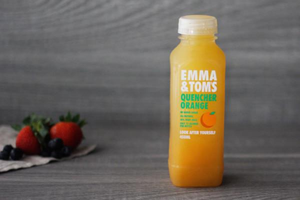 Emma & Tom's Orange Quencher 450ml* Drinks > Juice, Smoothies & More