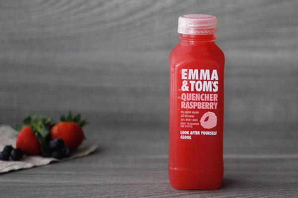 Emma & Tom's Raspberry Quencher 450ml* Drinks > Juice, Smoothies & More