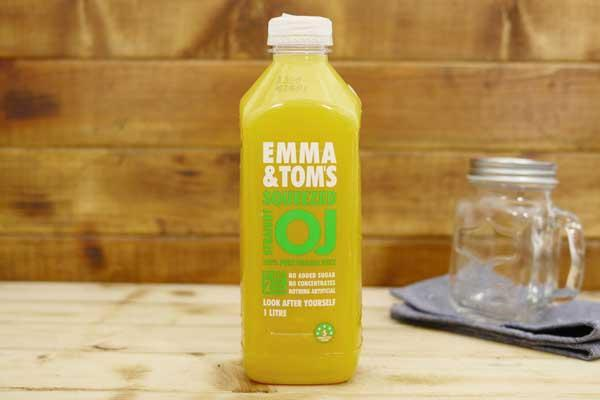 Emma & Tom's Straight OJ 1L Drinks > Juice, Smoothies & More