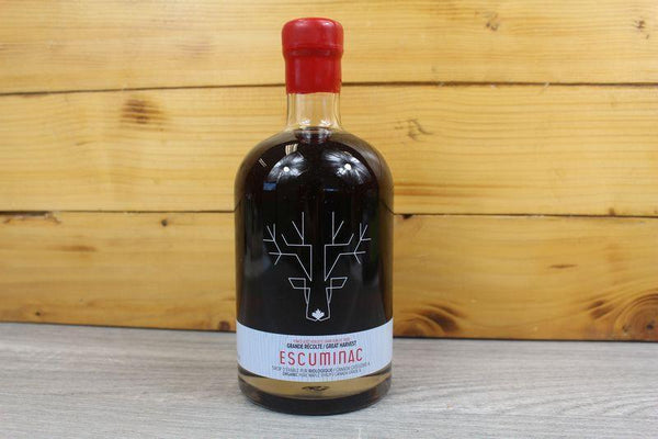 Escuminac Great Harvest Org Maple Syrup 500ml Pantry > Baking & Cooking Ingredients