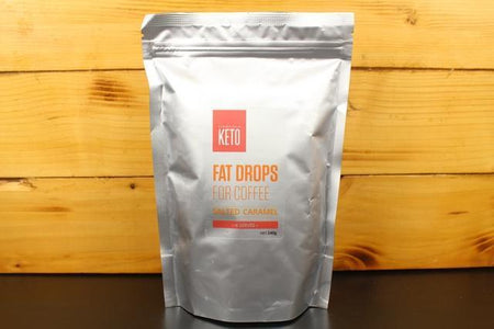 Essentially Keto Fat Drop Salted Caramel 225g Pantry > Granola, Cereal, Oats & Bars