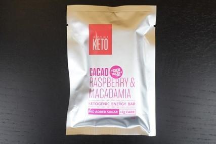 Essentially Keto Raspberry Macca 45g Pantry > Granola, Cereal, Oats & Bars