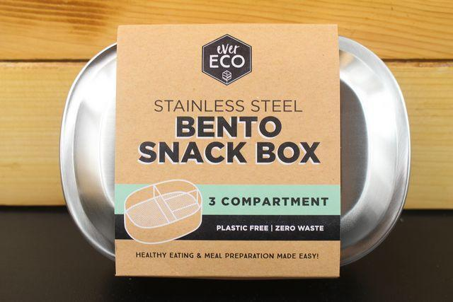 Ever Eco Bento Snack Box 3 Compartment Household > More Household