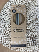 Ever Eco Stainless Steel Straws STRAIGHT - 2pk Household > Utensils