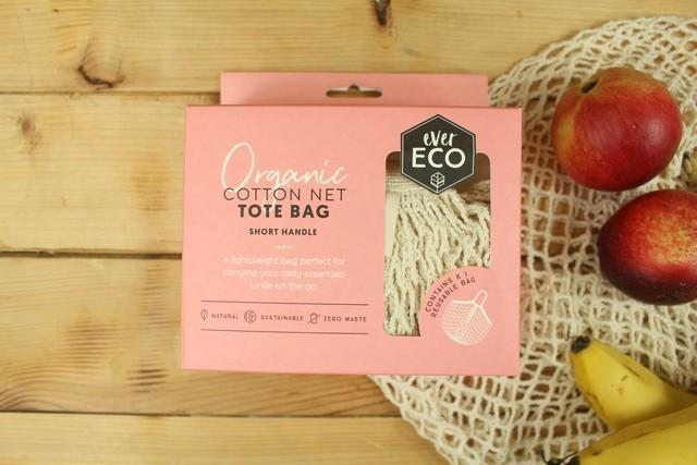 Ever Eco Tote Bag Cotton Net - Short Handle Household > Bags