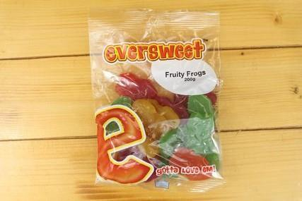 Eversweet Eversweet Fruity Frogs 200g Pantry > Confectionery