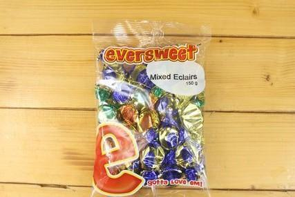 Eversweet Eversweet Mixed Eclairs 150g Pantry > Confectionery