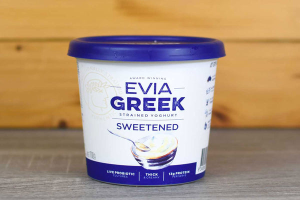 Evia Greek Yoghurt Full Cream Classic 700g Dairy & Eggs > Yoghurt