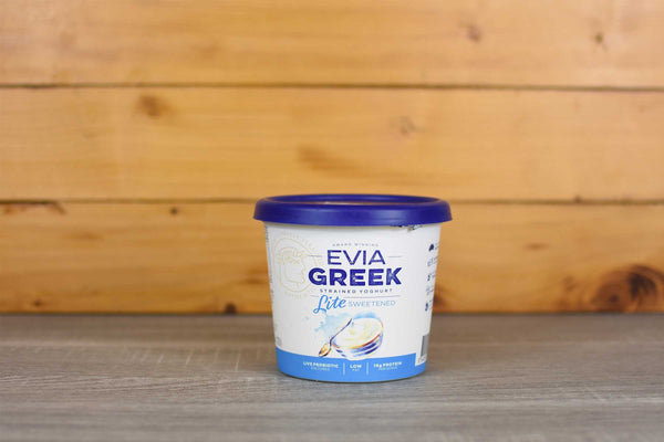 Evia Greek Yoghurt Light Classic 700g Dairy & Eggs > Yoghurt