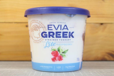 Greek Yoghurt Lite Raspberry 170g