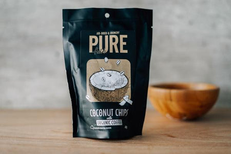 Extra Ordinary Foods Coconut Chips: Organic Coffee Pantry > Cookies, Chips & Snacks