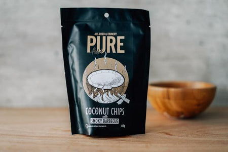 Extra Ordinary Foods Organic Coconut Chips: Smoky Barbecue Pantry > Cookies, Chips & Snacks