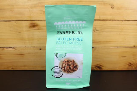 Farmer Jo GF Honey Baked Blend Nuts, Seeds & Coconut Muesli 300g Granola & Muesli