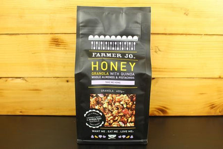 Farmer Jo Honey Granola With Quinoa Whole Almond Pistachio 400g Granola & Muesli