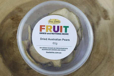 Fine Fettle FF Dried Au Pears 60g Pantry > Dried Fruit & Nuts