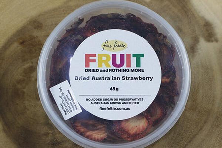 Fine Fettle FF Dried Au Strawberries 45g Pantry > Dried Fruit & Nuts