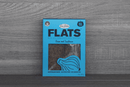 Fine Fettle Foods Onion & Sunflower Flats 80g Pantry > Biscuits, Crackers & Crispbreads