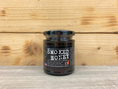 Fire Works & Smoke Original Smoked Honey 250g Pantry > Nut Butters, Honey & Jam