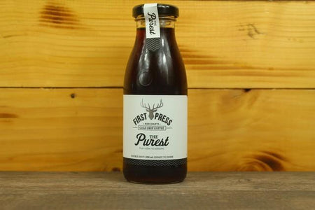 First Press Coffee First Press Cold Drip Coffee The Purist RTD 250ml Drinks > Coffee & Tea