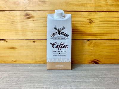 First Press Coffee FirstPress Almond Milk Iced Coffee 350ml Drinks > Coffee & Tea